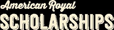 American Royal Scholarships