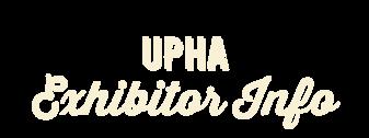 UPHA National Championship Exhibitor Info