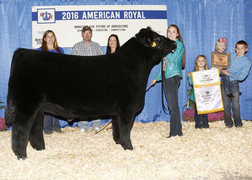 Junior Premium Livestock Auction American Royal