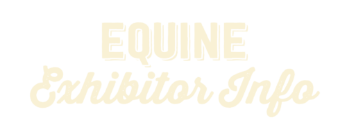Equine Exhibitor Info