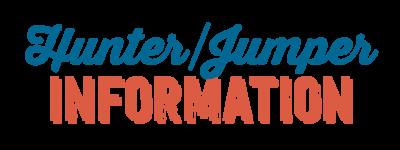 Hunters/Jumper Information