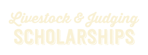 Livestock & Judging Scholarships