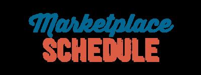 Marketplace Schedule