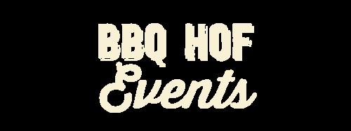 BBQ HOF Events