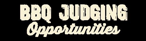 Judging Opportunities