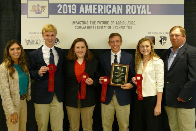 Meats Judging Contests American Royal